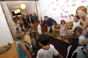 inauguration de la banque d instruments de musique